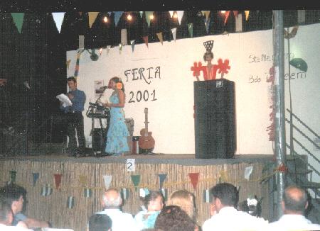 Escenario de la Feria