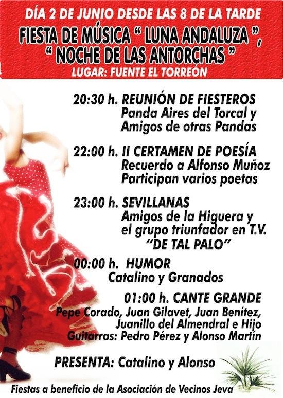 """Fiesta de Música """"Luna andaluza"""" en la Fuente del Torreón 2"""