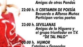 """Fiesta de Música """"Luna andaluza"""" en la Fuente del Torreón"""