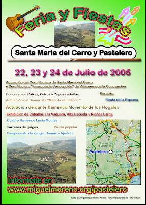 Reunión para la Feria de Santa Maria del Cerro y Pastelero 2