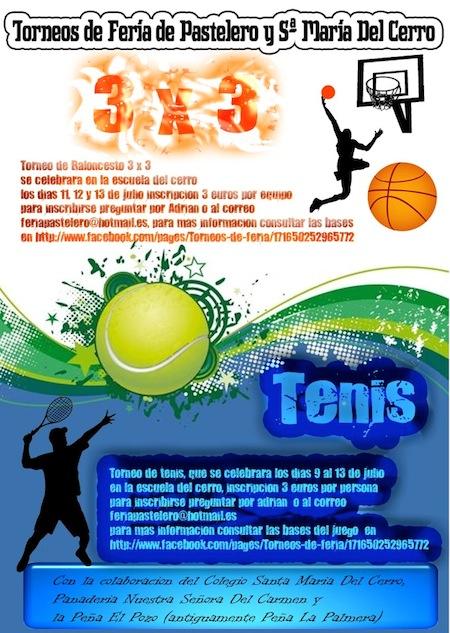Semana del deporte en Pastelero y Santa María del Cerro 2012 2
