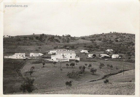 Foto antigua de la Barriada Pastelero de Málaga