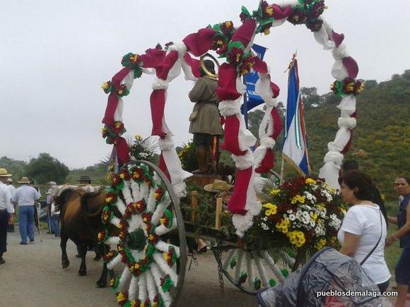 Romería San Isidro Almogía 2013