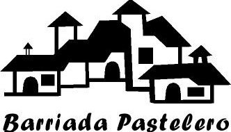 Logotipo con casitas de la Barriada Pastelero