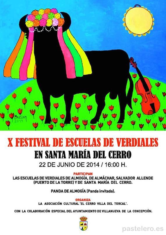 Festival de Verdiales en Santa María del Cerro