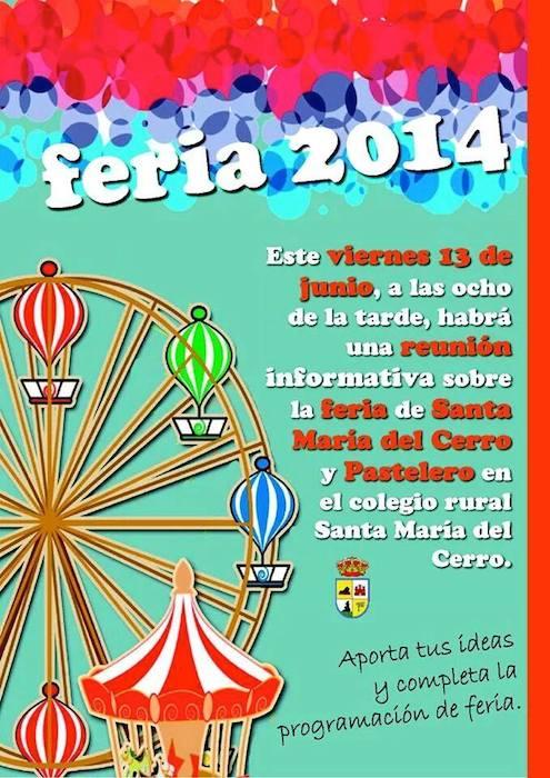 Reunión Feria Pastelero 2014