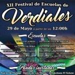 Festival de Escuelas de Verdiales en Santa María del Cerro 2016