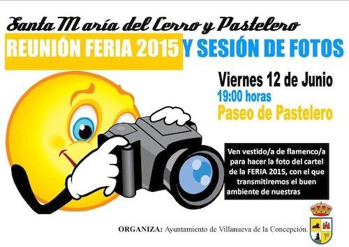 Sesión de fotos para la Feria de Pastelero 2015