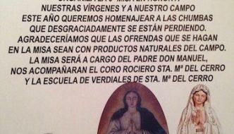 Misa Rociera en Santa María del Cerro