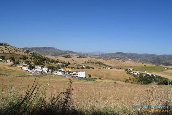 La Barriada Pastelero de Málaga desde el Puerto Subires