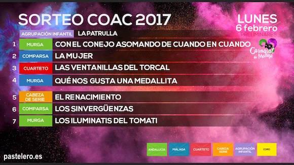 Directo Preliminares del COAC Málaga 2017