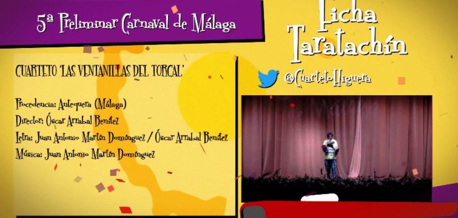 actuación de Las Ventanillas del Torcal en las Preliminares del COAC Málaga 2017