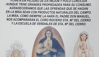 Misa Rociera en Pastelero, Santa María del Cerro