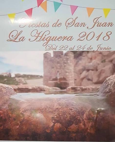 Fiestas de La Higuera 2018