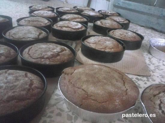 Tortas de aceite de Pasteleria Panadería de la Barriada Pastelero