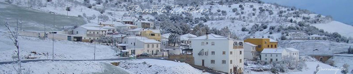 Pagina web de la Barriada Pastelero, situada junto a El Torcal de Antequera