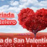 Día de los enamorados de San Valentín en Pastelero