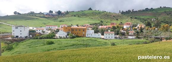 La Barriada Pastelero de Málaga en Primavera