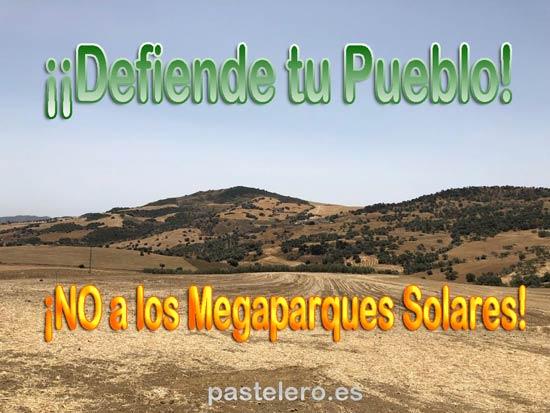 ¡Defiende tu pueblo, firma contra la invasión de placas solares!