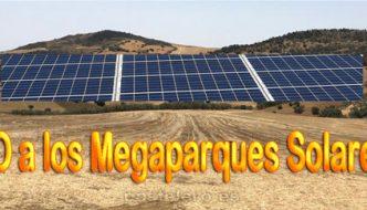 NO a las Plantas Fotovoltaicas en Almogía y la Barriada Pastelero